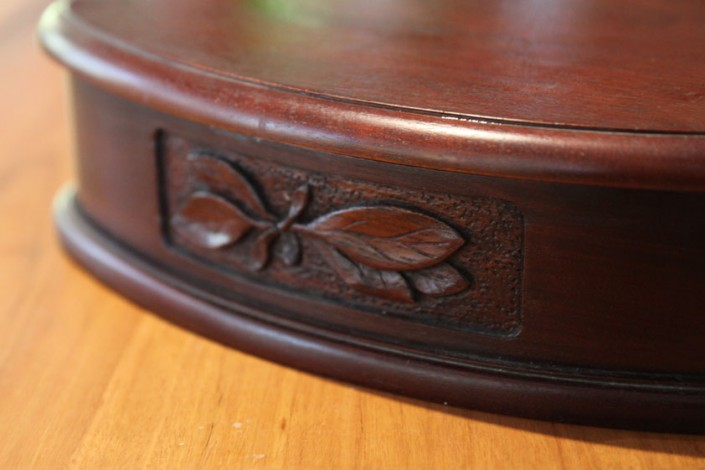 hand carved timber, jewellery box, timber box