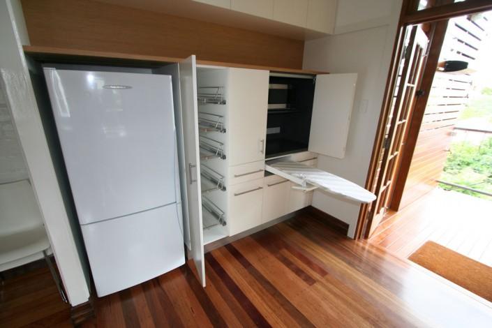 galley kitchen, custom kitchen, small space kitchen